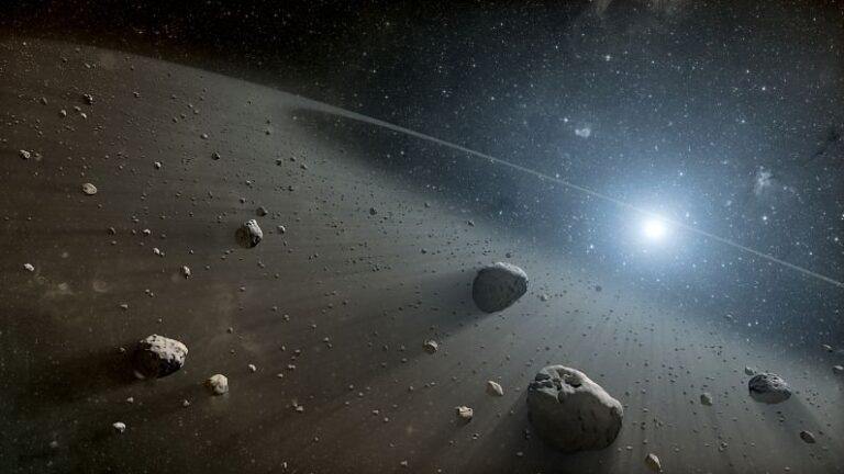Two 'red asteroids' outside the solar system knocked, scientists said - they should not be present in the asteroid belt