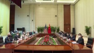 US-China Relations: US-China talks begin, allegations of 'dragon' - Washington spoiling relations