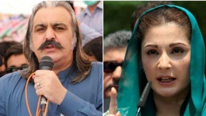 Video: Imran's closest minister said some objectionable things for former PM's daughter Maryam, said- 'There will be so many slaps that...'