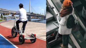 What is so special about this company's electric scooter that no one can buy it, you can fold it and put it in the car.