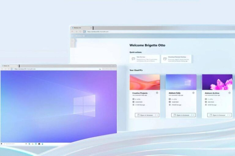 microsoft announced cloud PC platform Windows 365 can be accessed through any device