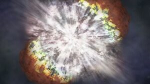 A star 100 times bigger than the Sun, the amazing picture of the explosion in the star taken for the first time, scientists are also surprised