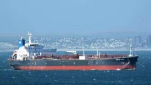 After the drone attack on the oil tanker, the ship was now 'hijacked' off the coast of UAE, suspected to be Iran's hand