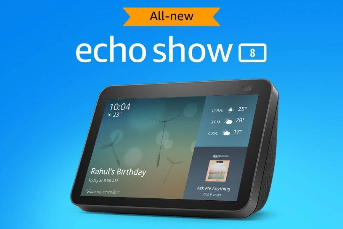 Amazon Echo Show 8 (2nd Gen) launched in india know price specifications