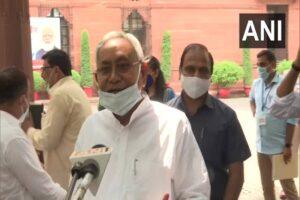 Bihar delegation including bihar cm nitish kumar and rjd leader tejasvi yadav meets PM Modi to press for caste census