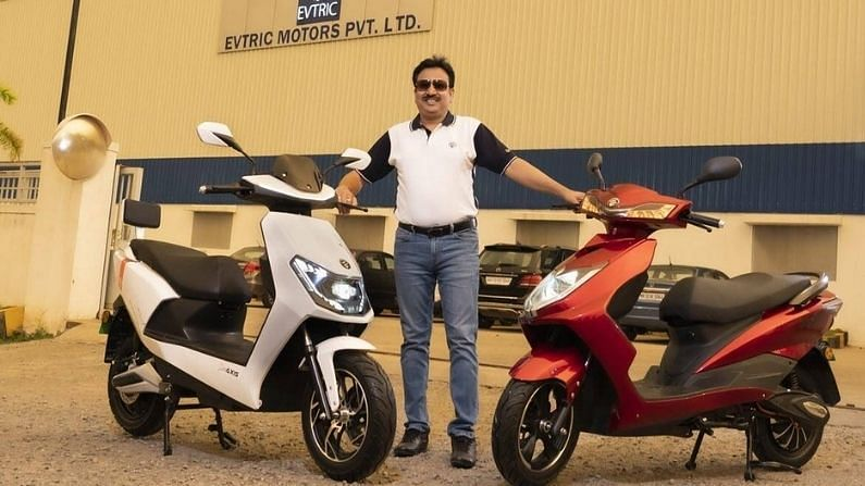 Evtric Motors Launches This Powerful Electric Scooter With 100 Km Range, Will Be Fully Charged In Just 3 Hours