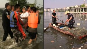 Flood in China: After a thousand years, heavy rain caused havoc in China, death toll crossed 300