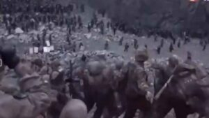 Galwan Clash Video: Another video of Galwan violence released, Indian soldiers hit Chinese soldiers like this