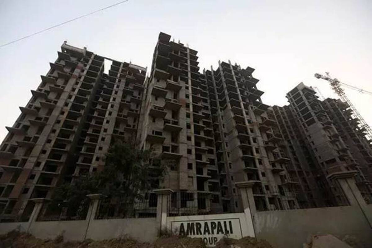 Good news for homebuyers: Many banks are ready to fund the incomplete projects of Amrapali Group, SBICAP Ventures will give 650 crores for 6 projects