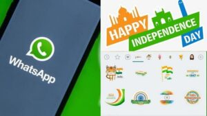 Happy Independence Day: Celebrate Independence by downloading and sending such stickers and GIFs on WhatsApp