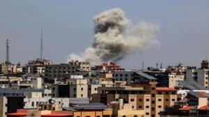 Israeli army strikes again on Gaza Gatti, targets Hamas targets, will war break out again?