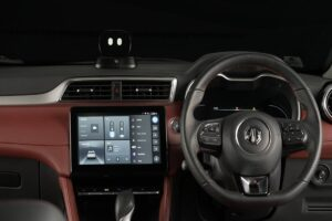 MG motor unveils Astor with AI assistant will be launched around diwali