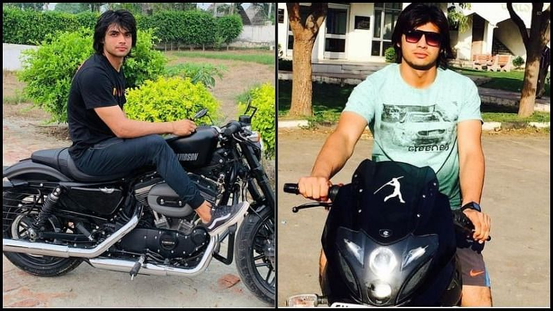 Neeraj Chopra loves not only throwing javelin but also at speed, from Pulsar to Harley worth 11 lakhs kept in the garage