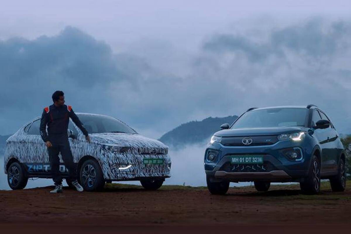 New Tata Tigor EV teaser released before launch know details