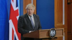 People's displeasure against Britain's travel ban, PM Johnson said - will allow travel through 'user-friendly system'