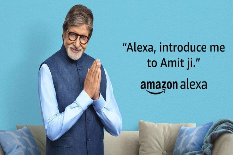 now users can talk to superstar amitabh bachchan on alexa