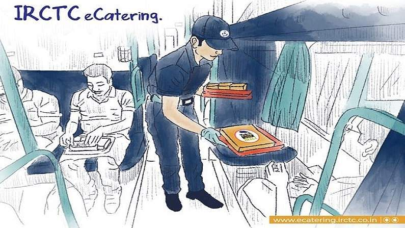 You will be able to order food online at your seat in the train, IRCTC's e-catering service resumed