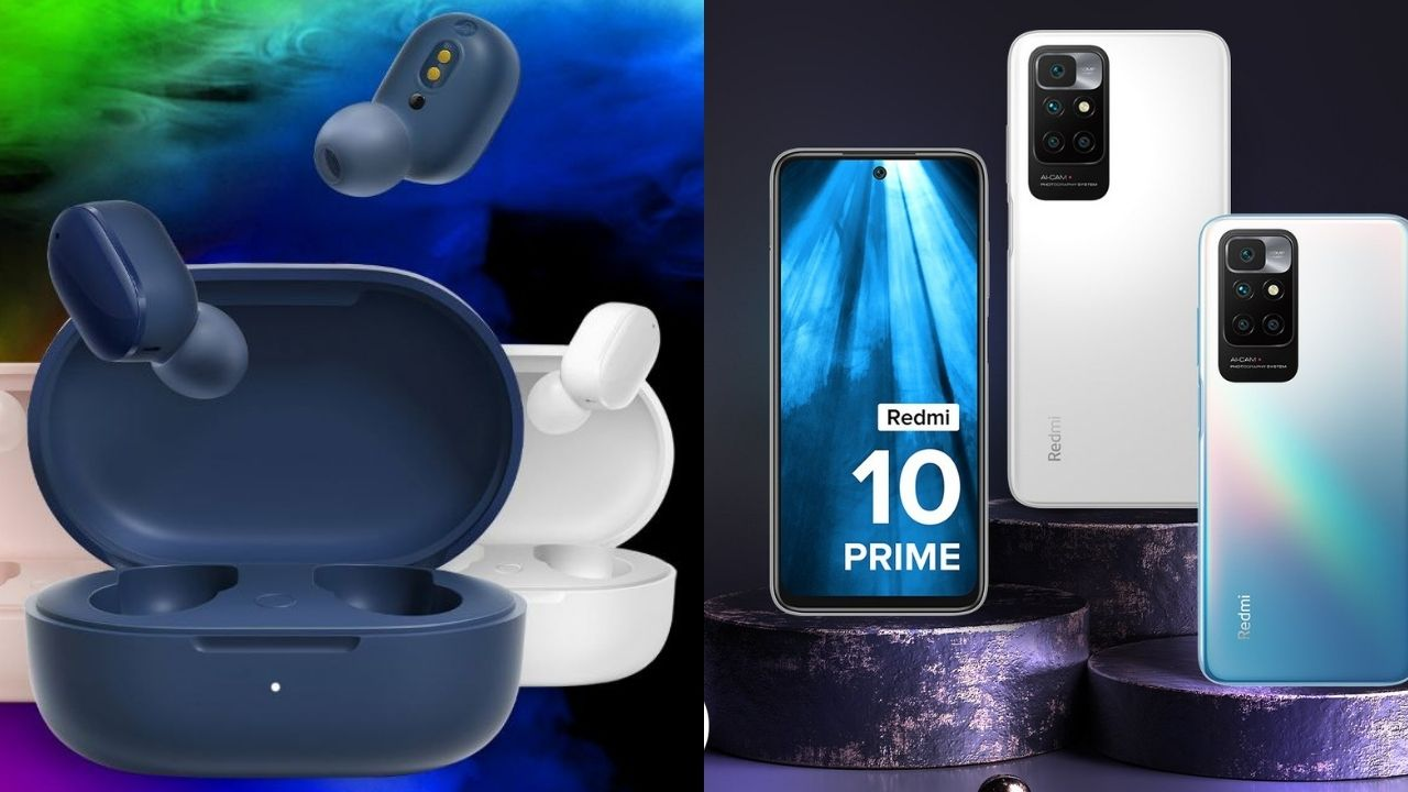 Redmi 10 Prime launched with low price and 6000mAh battery, the company also launched Earbuds 3 Pro