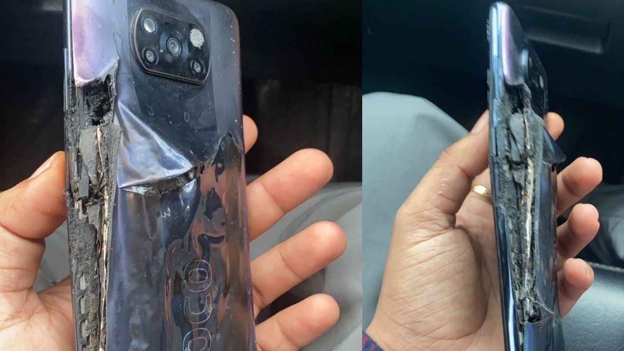 The fire broke out as soon as the Poco X3 Pro smartphone was removed from charging, the company blamed the customer, know the whole matter
