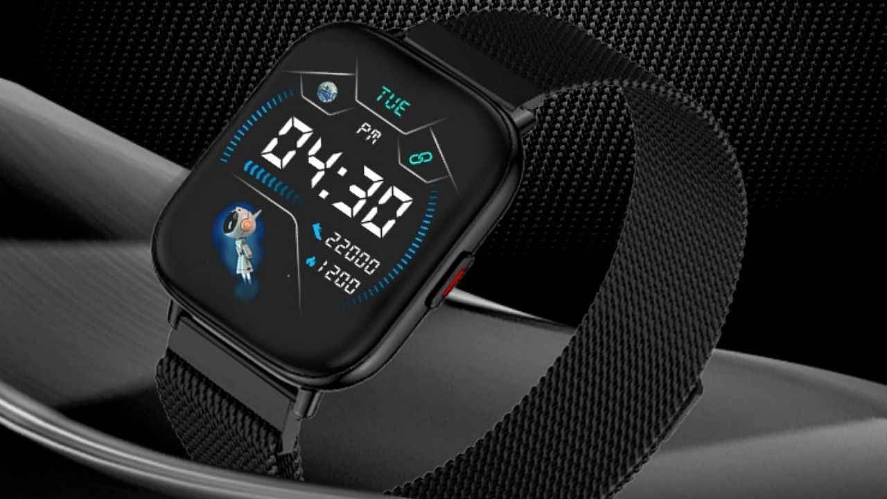 This cheap smartwatch from Zebronics looks like Apple Watch, many cool features are available with calling