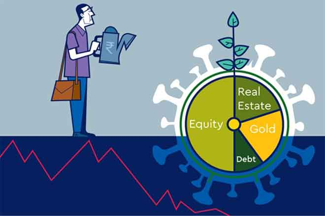 A diversified portfolio is the best bet against market volatility