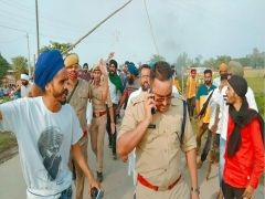 Lakhimpur Kheri Violence: Violence during the protest of ministers in Lakhimpur Kheri, 8 people including 4 farmers died
