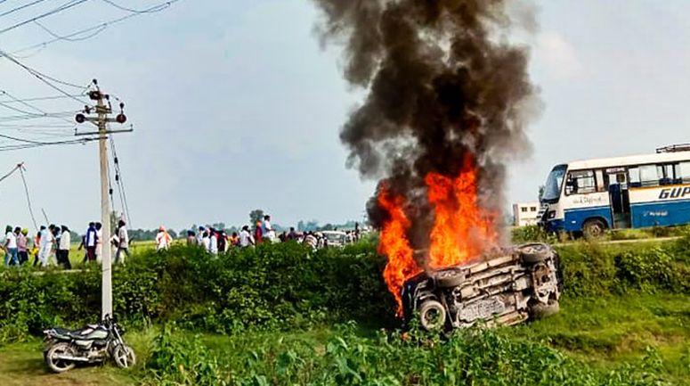 Lakhimpur Violence: 2 arrested in Lakhimpur Kheri violence case, UP government to file status report in SC tomorrow