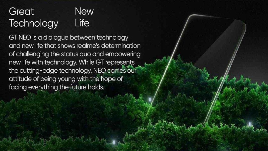 Realme GT Neo2 का पेज हुआ लाइव, भारत में जल्द होगा लॉन्च और ये हैं स्पेसिफिकेशन